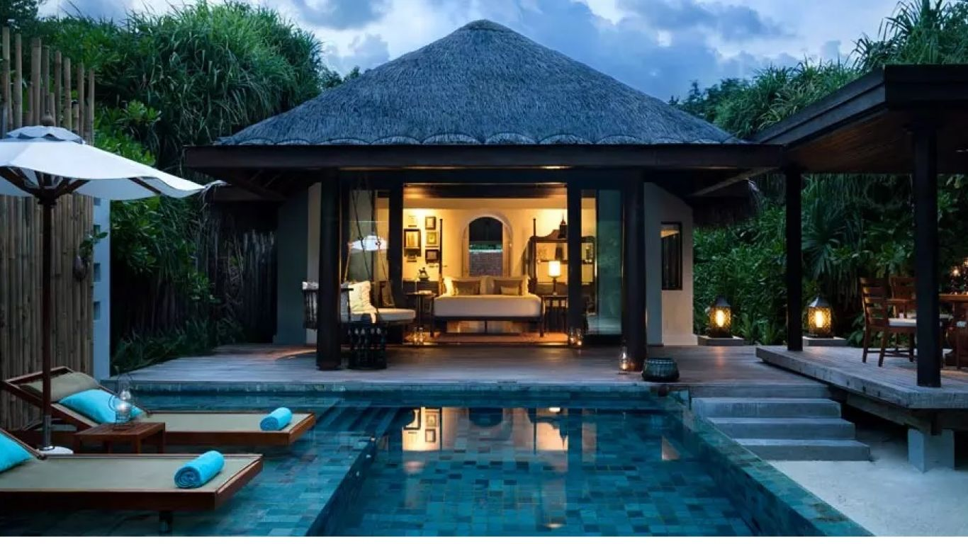Anantara Deluxe Spa Pool Villa  | Maldives