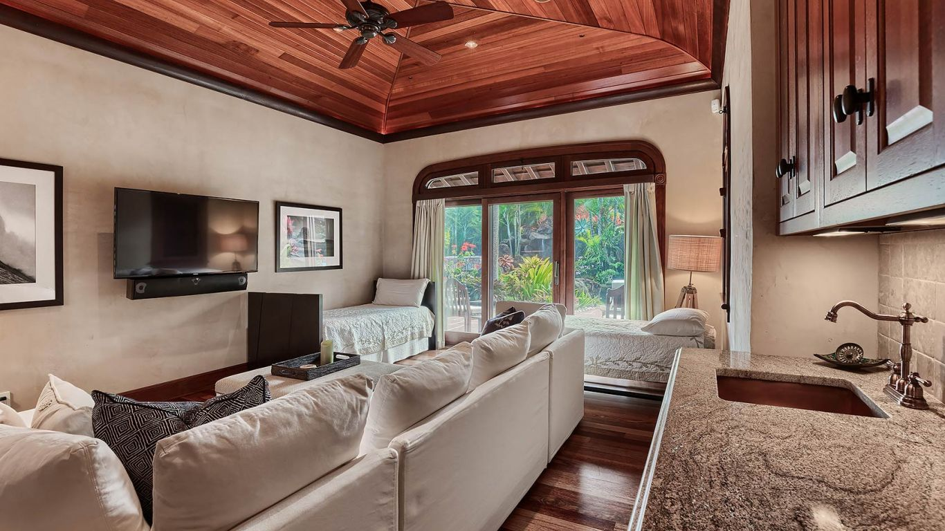 Villa Odette, North Shore- Kalihiwai, Kauai, USA