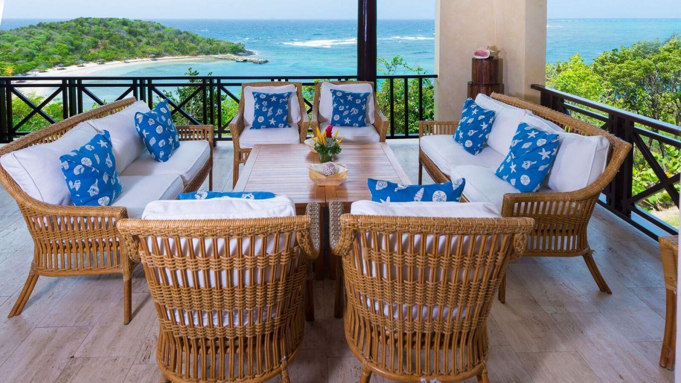 Villa Little Blue Ocean   Canouan Island