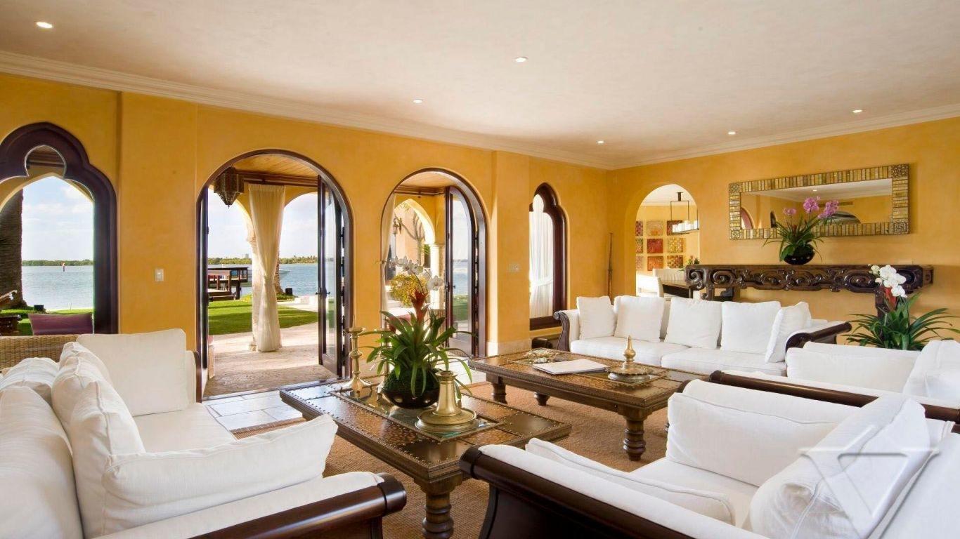 Villa Camila, Sunset Islands, Miami, USA