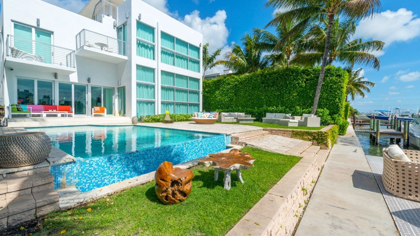 Villa Alexandra, Venetian Islands, Miami, USA