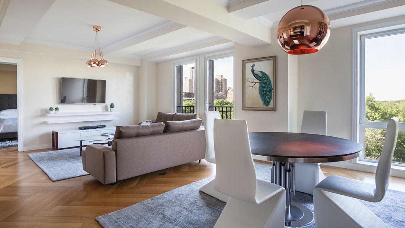 Apartment Richard, Central Park South, New York, USA