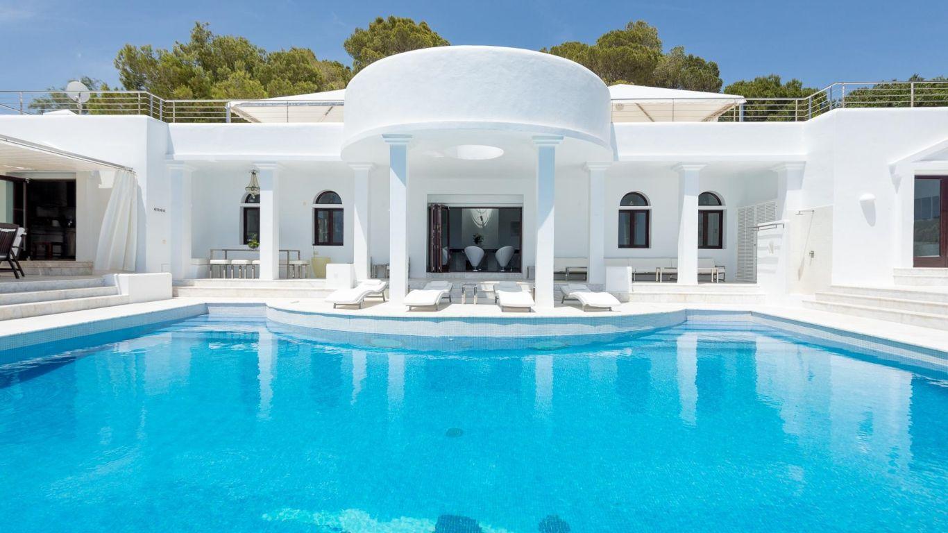 Villa Rica, Cala Jondal, Ibiza, Spain
