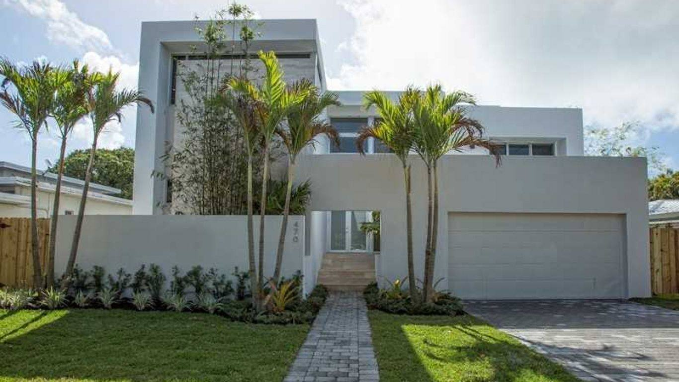Villa Hazel, North Beach, Miami, USA