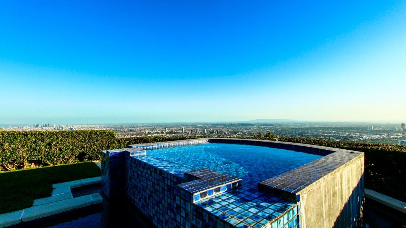Villa Stella, Hollywood Hills, Los Angeles, USA