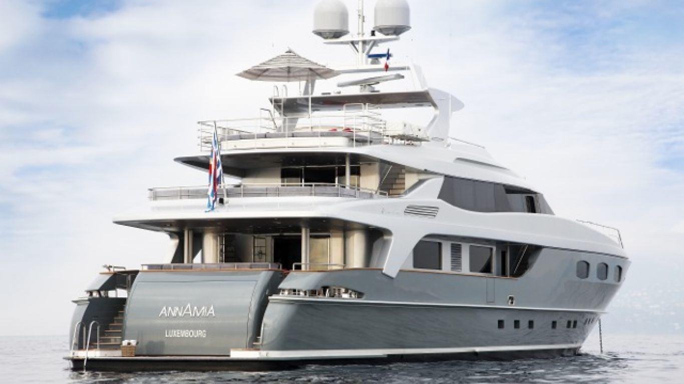 Yacht ANNAMIA 141 | Yachts