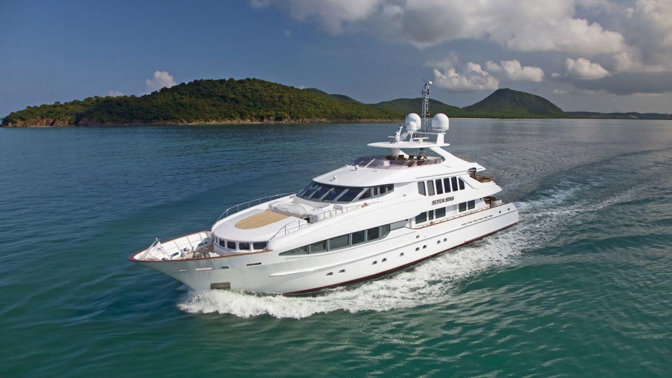 Yacht The Lady K 144 | Yachts