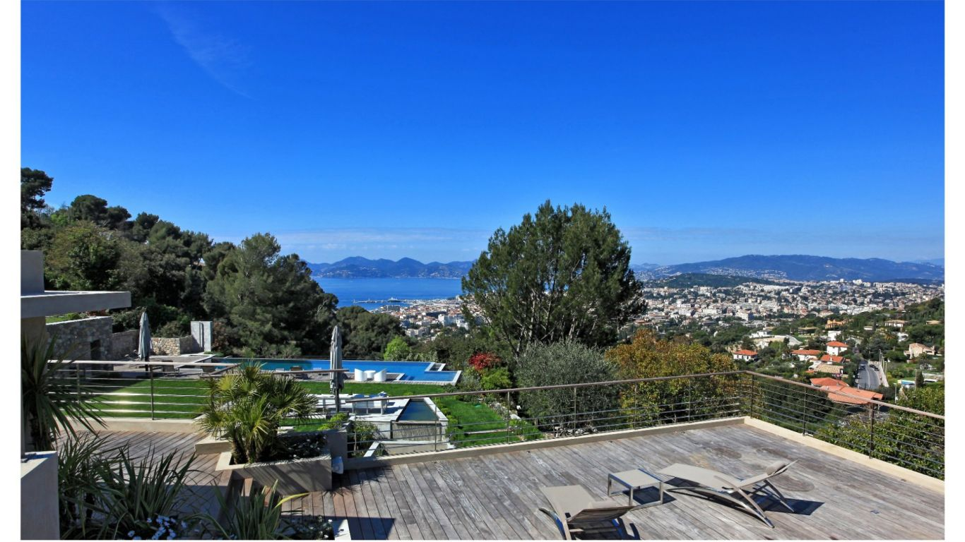 Villa Madonna, Californie, Cannes, France