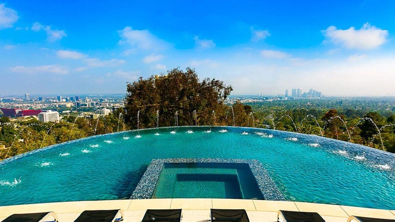 Villa Emma, Hollywood Hills, Los Angeles, USA