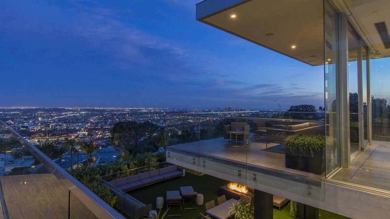 Villa Magda, Hollywood Hills, Los Angeles, USA