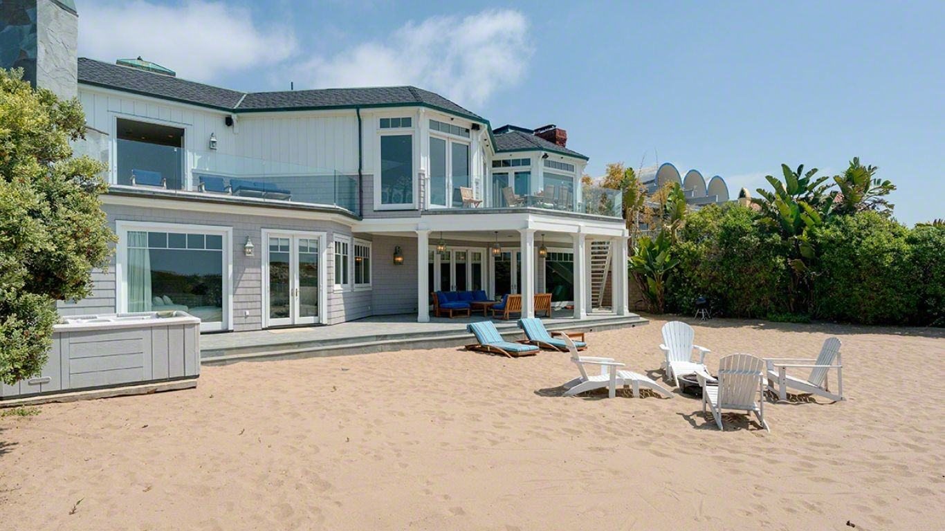 Villa Mila, Malibu, Los Angeles, USA