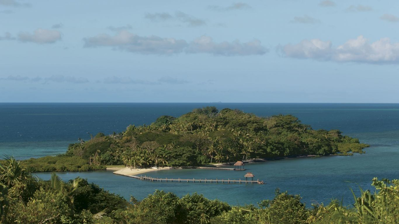 Dolphin Island, Dolphin Island, Private Islands, Fiji