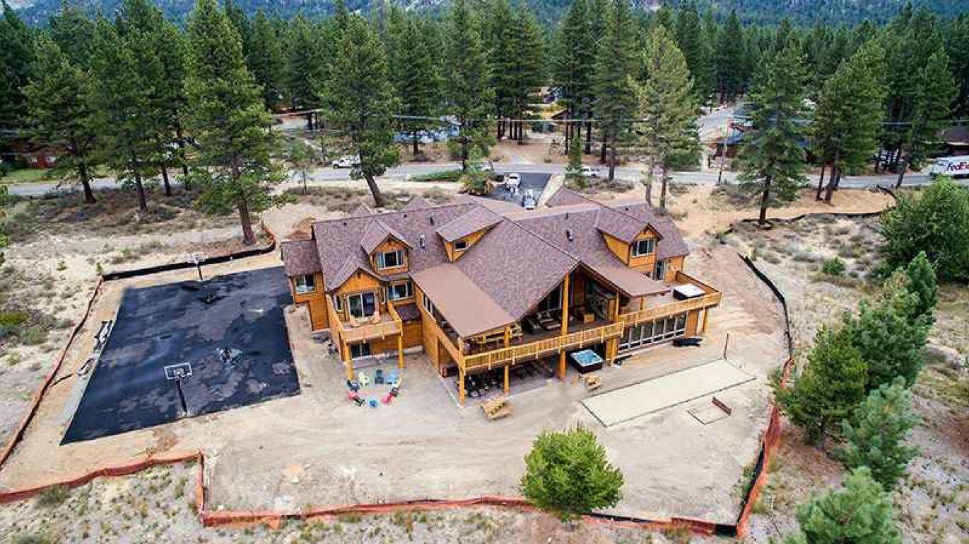 Villa Selina, South Lake Tahoe, Lake Tahoe, USA