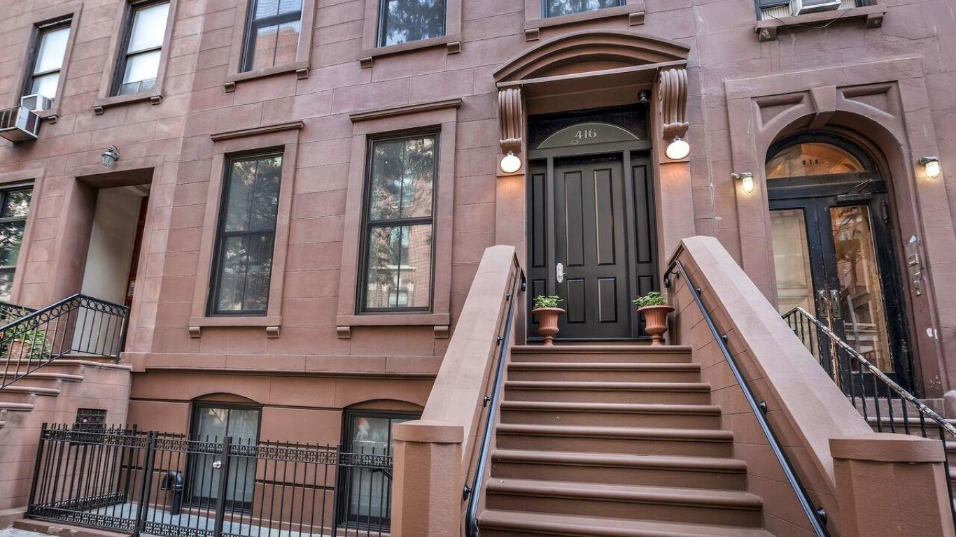 Townhouse Catherine, Hell's Kitchen, New York, USA