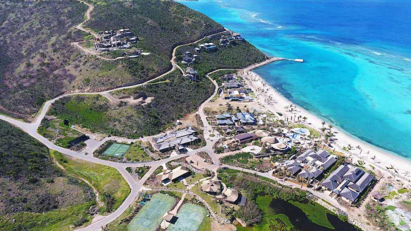 Oil Nut Bay   Caribbean Islands