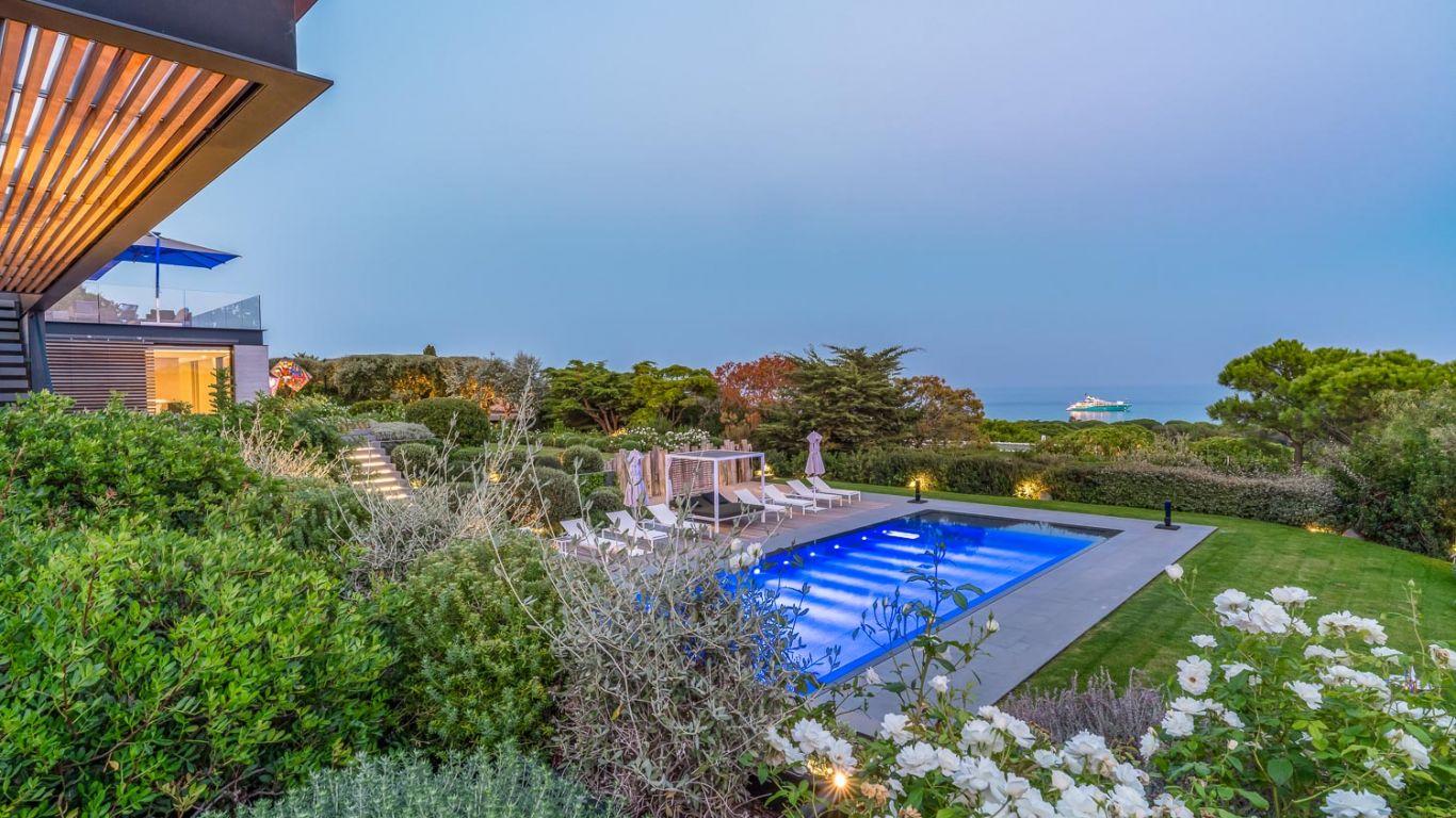 Villa Salma, Pampelonne, St. Tropez, France