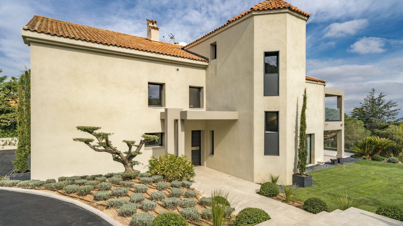 Villa Alisha, Vallauris, Cannes, France